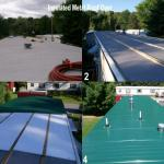 Before During & After Insulated Metal Roof Over. Mechanicville NY.